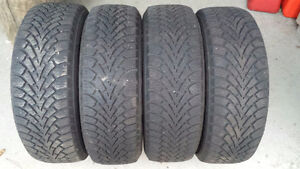 Used Winter Tires - Goodyear Winter Nordic