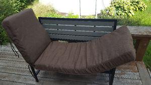 Coussin pour chaise longue ou banc