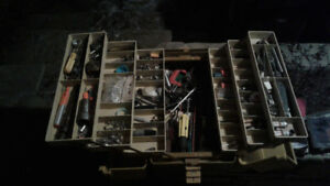 MOVING SALE! ASSORTED TOOLS AND BOXES