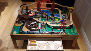 Kid Kraft Metropolis Train Table Set with Trundle...and MORE!