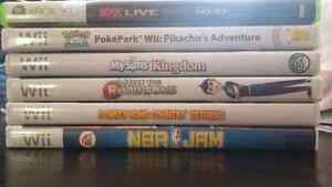 SOLD: Wii and 360 games