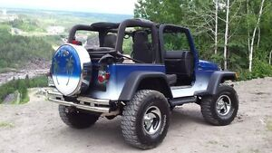 Jeep d'esposition. 2005 comme neuf