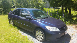 2004 Honda Civic Sedan Trading for a Motor Cycle