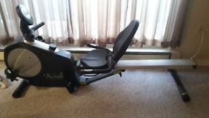 Avari 2 in 1 - Rower Cycle