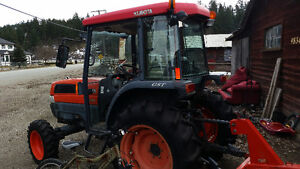 tractor and farm equipment