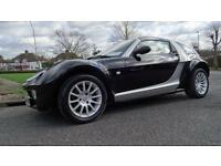 SMART ROADSTER BLACK EDITION - HPI CLEAR 2004 Auto 80000 Petrol Silver Petrol