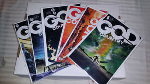 GOD COUNTRY COMPLETE SET #1 TO 6 COVER A's 1ST PRINTS.