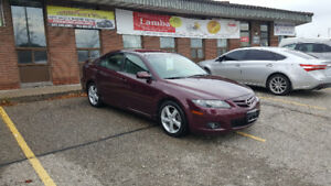 2006 Mazda Mazda6 LOW LOW KM !!FINANCING AVAILABLE !!