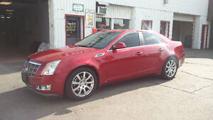 2009 Cadillac CTS 4 AWD LOADED LEATHER/SUNROOF/BOSE!/NAVI!