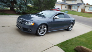 Audi S5 V8 AWD (comes with a set of rims and winter tires)