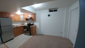 One bedroom basement available from Nov 01