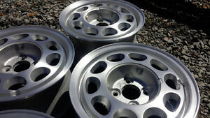 """Ford Mustang Alloy Rims 15"""" 4 bolt Foxbody Set of four Wheels"""