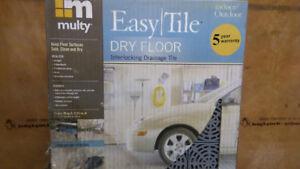 Multy - Dry Floor Interlocking Tiles