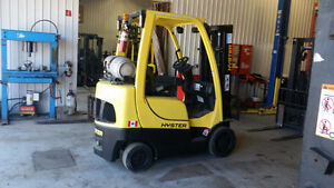 Certified Hyster Forklift in Top Condition. Delivery Included