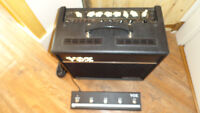 VOX VT40+ Guitar Amplifier with foot controller
