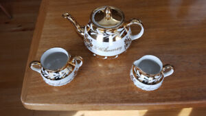 50th Anniversary tea set