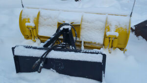Snow Wolf 6ft Skidsteer Plow