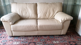 3 Seater Leatherette Sofa