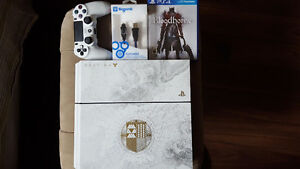 Rarely used destiny edition Ps4 with Bloodborne copy