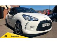 2015 Citroen DS3 1.2 PureTech 110 DStyle Nav 3d Manual Petrol Hatchback