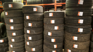 Used SUV & Light Truck tires.