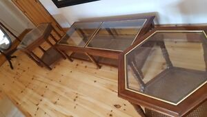 Glass coffee and End tables Peterborough Peterborough Area image 1