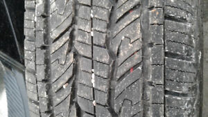 FOUR GENERAL GRABBER AS NEW 255/70R17 TRURO
