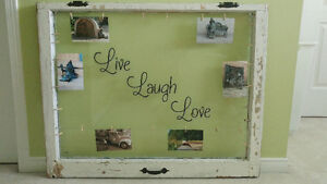 Rustic Window Picture Frame