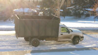 Junk and garbage removal with a smile!