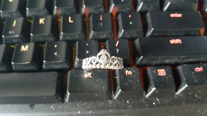 My Princess S925 Womens Size 8 Ring