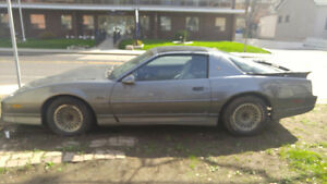1987 Pontiac Trans Am GTA FOR SALE 1900$ OBO