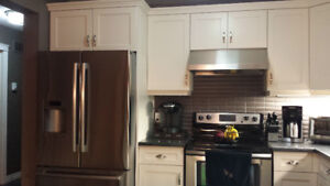 """Moving sale 36"""" fridge and electric stove"""
