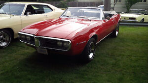 1967 Firebird Convertible 326CI 2-speed Auto