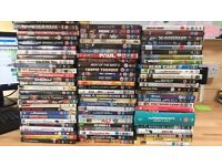 80 mixed dvds