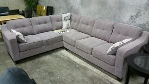 Fuji sectional,Made in BC, over 200 fabric,many lasting features
