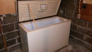 very clean large freezer,