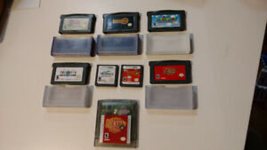 Jeux DS/GBA/GB Color