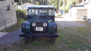 1955 series I Land Rover