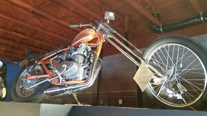 SOLD - The Real Deal - 70's Survivor Chopper - Up for grabs