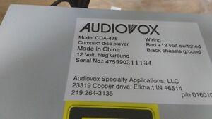 Audiovox RV CD Player