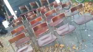 REDUCED!High Quality Wood and Metal Chairs 10$ each Kingston Kingston Area image 1