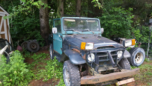 Toyota land cruiser 1978fj40 parts