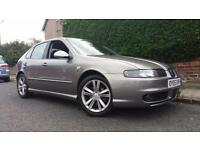 2005 05 SEAT LEON 1.9TDI FR.5 DOOR.FANTASTIC COLOUR.LOW MILEAGE.6 SPEED GBOX.