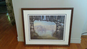 "James Lumbers framed print ""Abandoned Heritage"""