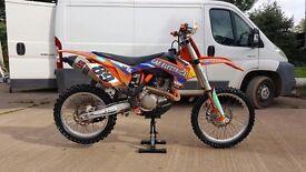 2013 KTM 450sxf 450 sxf motocross bike