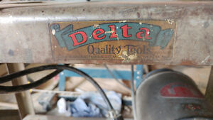 Vintage Delta Jointer Table Saw base and motor