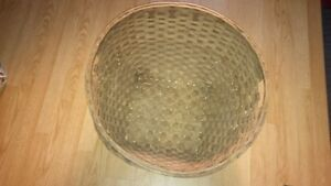 Vintage Woven Basket found in 1871 home in attic
