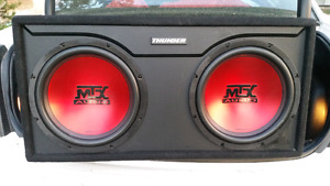 Mtx 12 inch subs