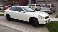 2004 Infiniti G35x AWD luxury Sedan