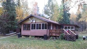 Cabin on Wenesaga Lake